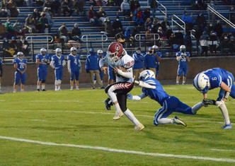 Portland Football Routs Ionia, Capturing 6th Straight League Title