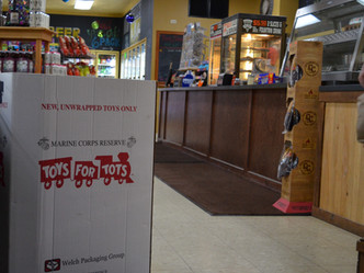 Portland Party Store Event Benefiting Toys for Tots