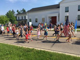 Girl Scouts Organize 4th of July Street Parade