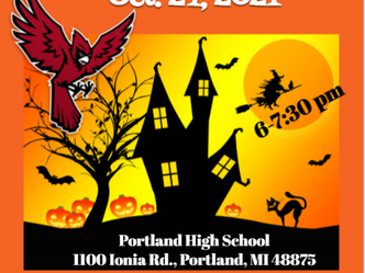 PHS Hall-O-Ween Event Scheduled for October 27th