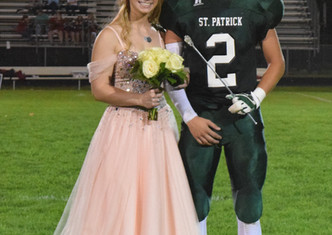 St. Patrick School Announces 2017 Homecoming King and Queen