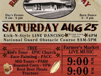 3rd Annual Red Mill Community Day Set for August 25th
