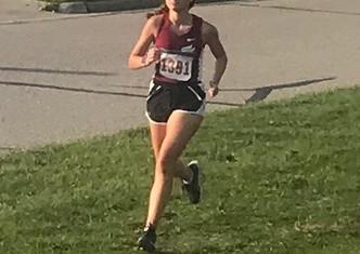 Elaina Volk Leads Raider Girls to 4th Place Finish