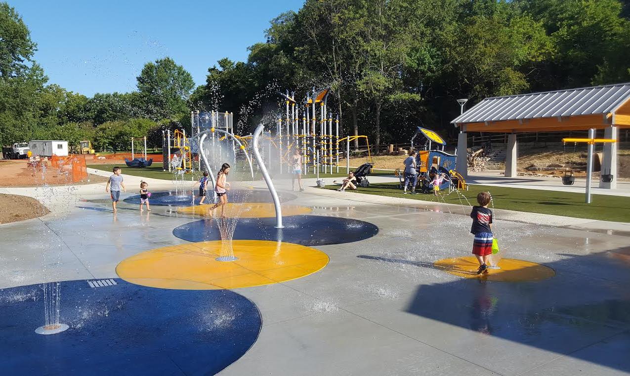 Overland Park Splash Pad