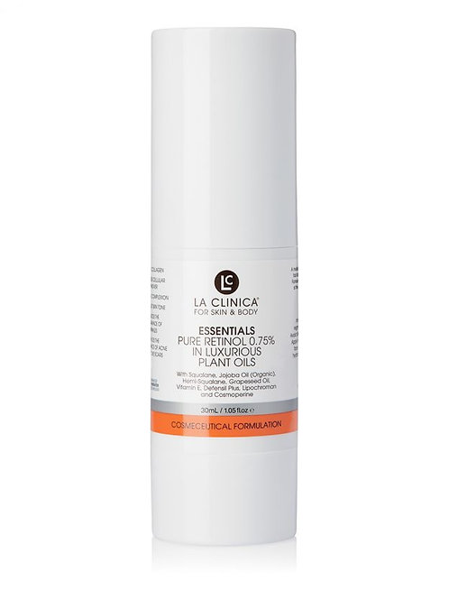 Essentials Pure Retinol 0.75% In Luxurious Plant Oils