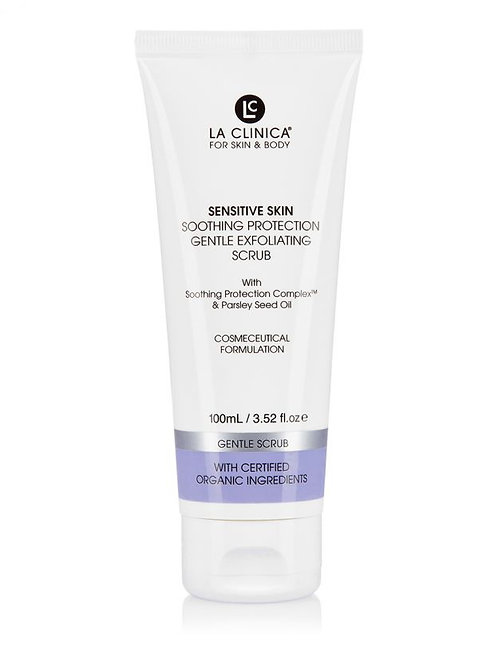 Sensitive Skin Soothing Protection Gentle Exfoliating Scrub