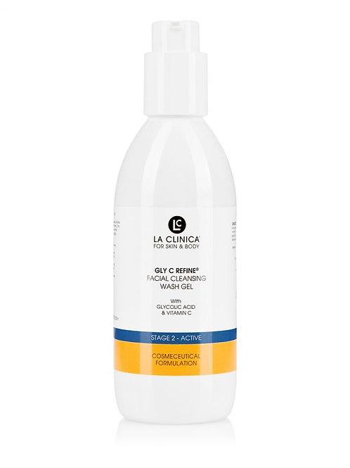 GLY C Refine Facial Cleansing Wash gel 10%