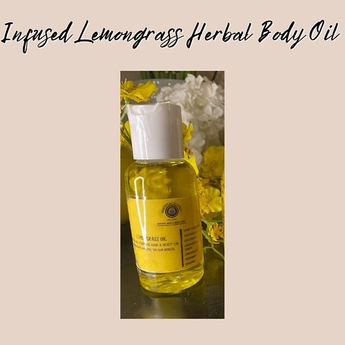 All Purpose Infused Herbal Body Oil