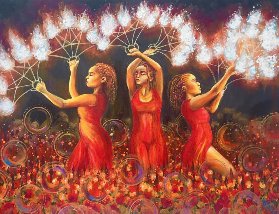 Three Flame Graces