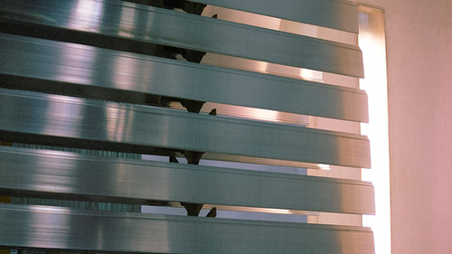 Luxyclad extruded cladding