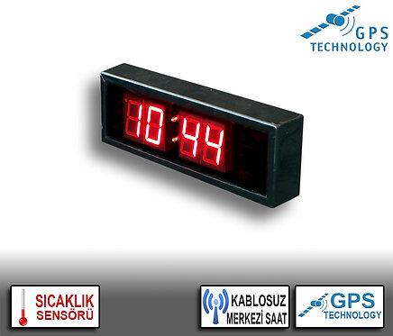 MERKEZİ Dijital Saat (İç/Dış Mekan) 10cm x 31cm (Rakam Yüksekliği 4,5cm)