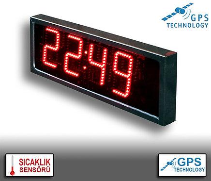 UYDU Senkronize Saat Derece (İç/Dış Mekan) 20cm x 39cm (Rakam Yüksekliği 15cm)