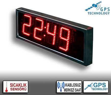 MERKEZİ Dijital Saat (İç/Dış Mekan) 20cm x 39cm (Rakam Yüksekliği 15cm)