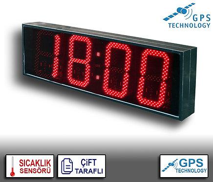 UYDU Senkronize Saat Derece (İç/Dış Mekan) 39cm x 114cm (Rakam Yük. 30cm)
