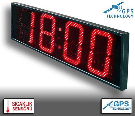 UYDU Senkronize Saat Derece (İç/Dış Mekan) 38cm x 113cm (Rakam Yüksekliği 30cm)