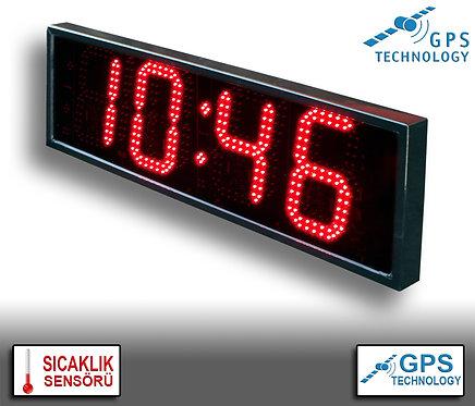 UYDU Senkronize Saat Derece (İç/Dış Mekan) 21cm x 72cm (Rakam Yüksekliği 16cm)