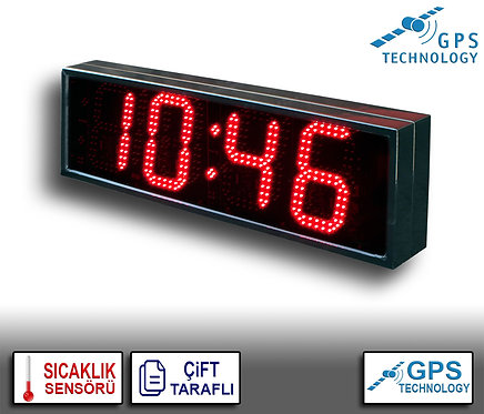 UYDU Senkronize Saat Derece (İç/Dış Mekan) 21cm x 72cm (Rakam Yük. 16cm)