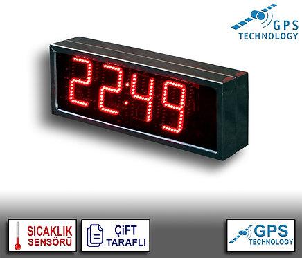 UYDU Senkronize Saat Derece (İç/Dış Mekan) 21cm x 39cm (Rakam Yük. 15cm)