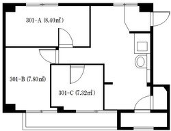築地シェアハウス_図面【301号室】.jpg