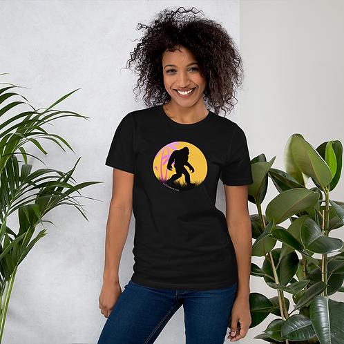 Tropical Bigfoot Unisex T-Shirt