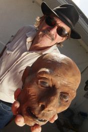 Florida's Master of the Weird, Charlie Carlson Photo by: Gary Lester