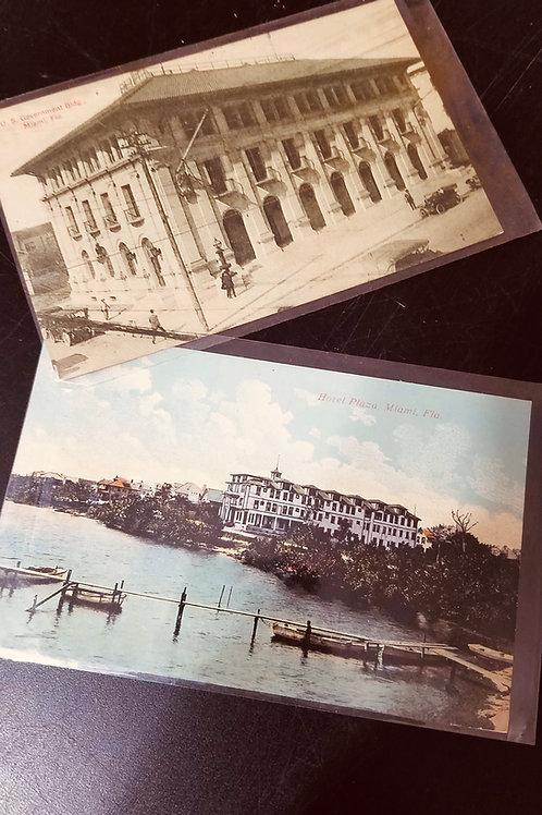 Vintage South Florida Postcards