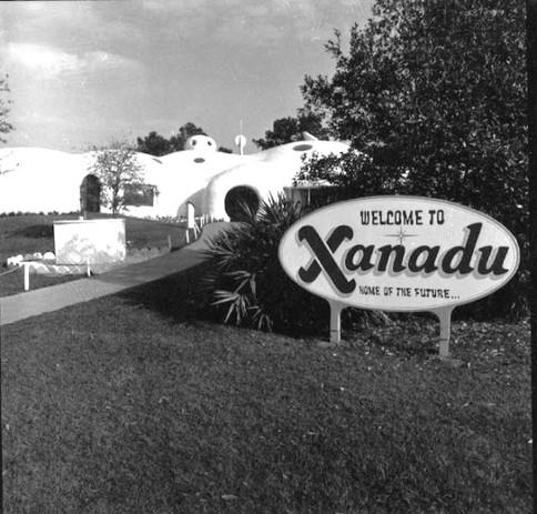 Xanadu House a lost roadside attraction in Kissimmee FL