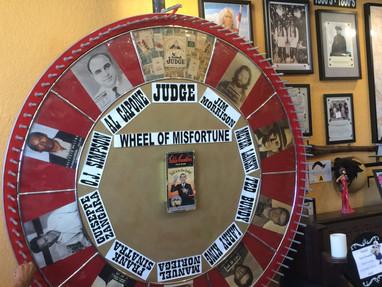 Wheel of Misfortune, South FL Crime Museum