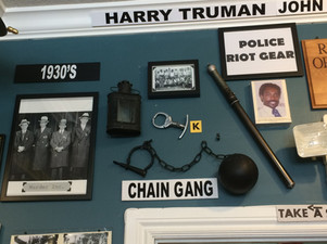 Police paraphernalia, South FL Crime Museum