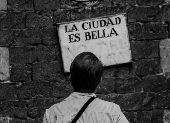 LA CIUDAD ES BELLA
