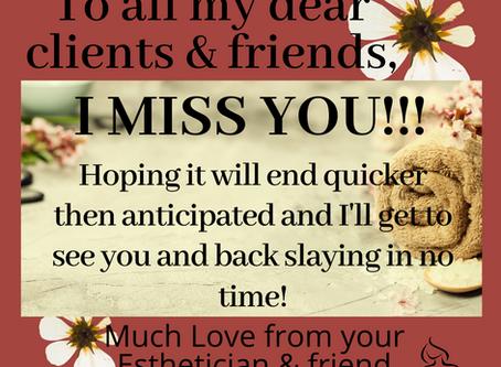 Miss you ladies!