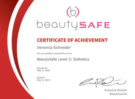 Always safe @ Very Best Me Esthetics