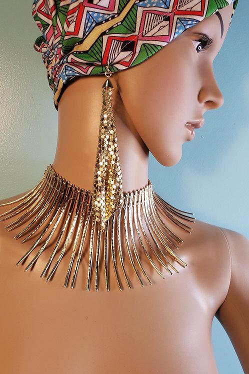 Wakanda African Necklace Set