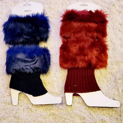 Multi-Color Fur Leg Warmer ($8 for each)