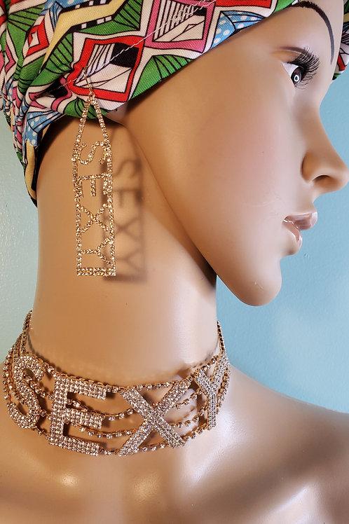 Rhinestone Necklace (SEXY)
