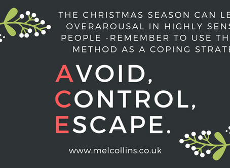 Tips for managing overarousal at Christmas time if you are a HSP
