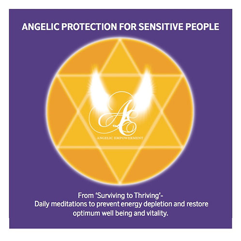 Angelic Protection for Sensitive People CD