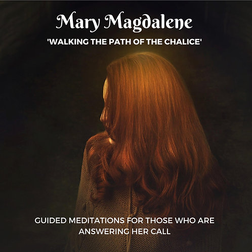 Mary Magdalene Walking The Path Of The Chalice