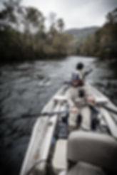 Watauga River Float Fishing Trip