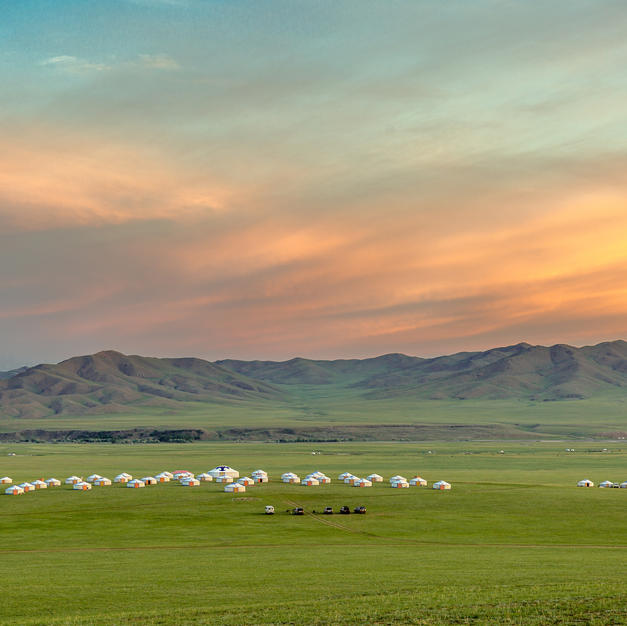 In the Middle of Mongolia