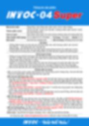 Thông tin sản phẩm chống thấm INTOC-04Su