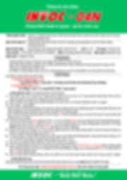 Thông tin sản phẩm chống thấm INTOC-04N.