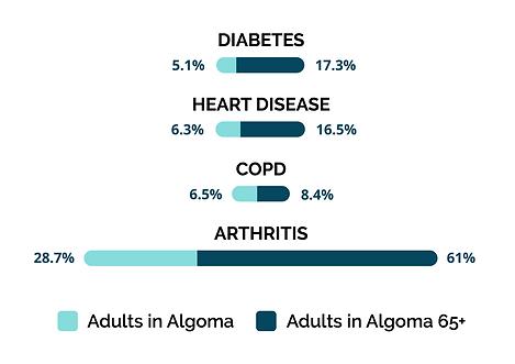 Graph: Chronic Disease in Algoma