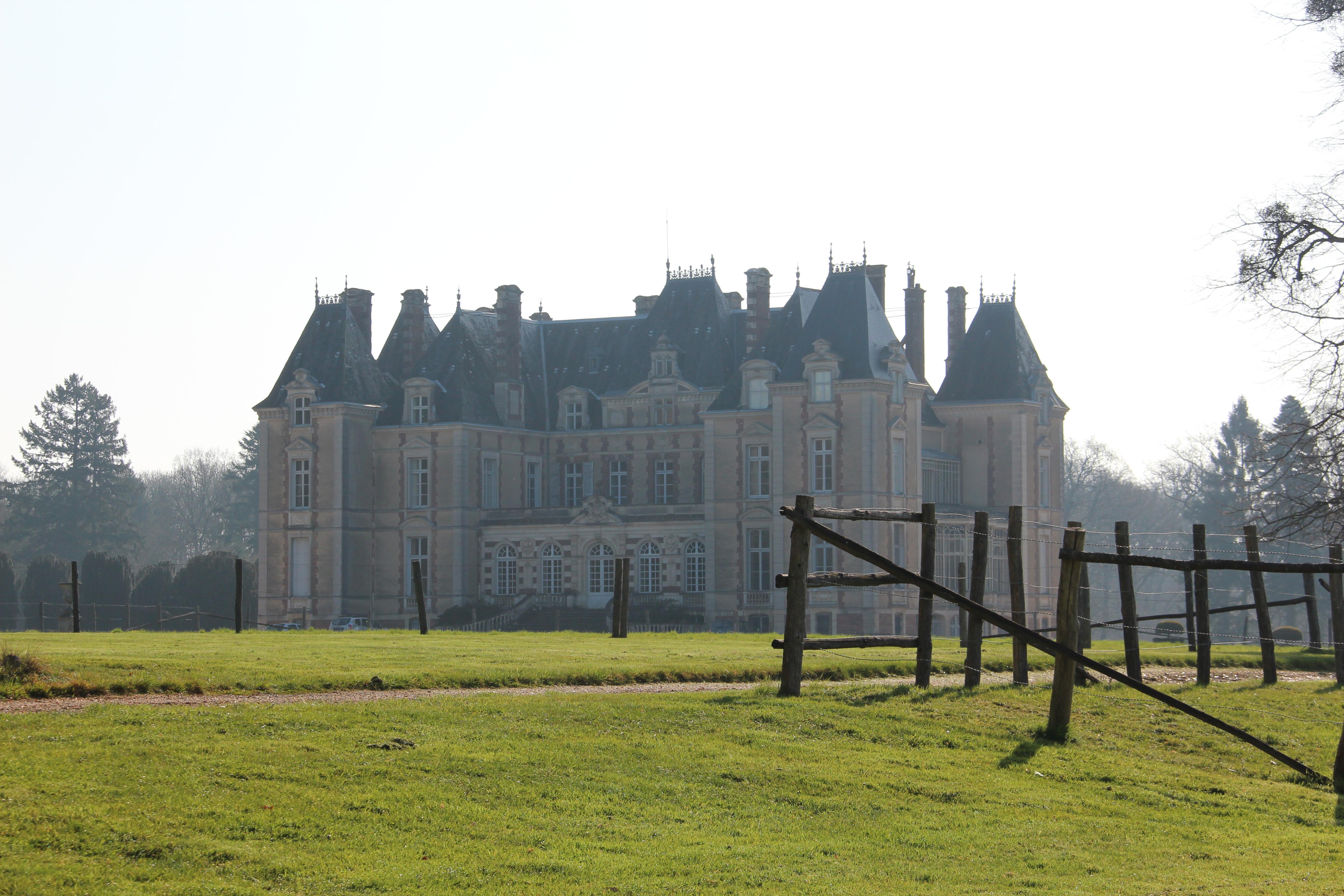 Le Chateau vu depuis la régie