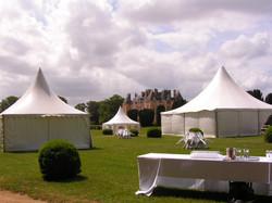 Tentes dans les jardins (1)