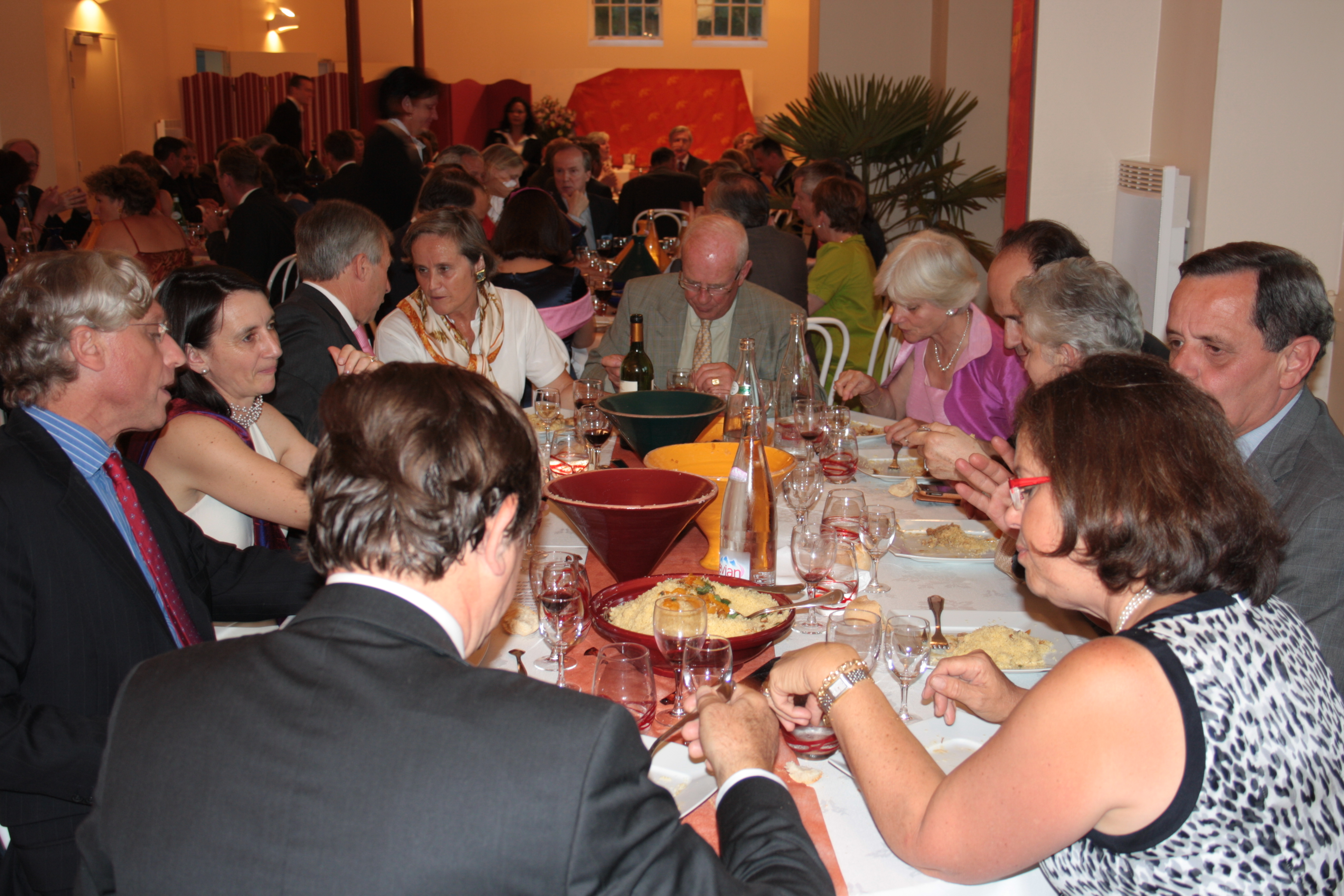 Exemple table mariage