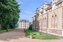 Le Chateau vu depuis l'entrée