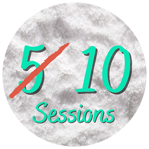 5 sessions (Buy one Get One Free)