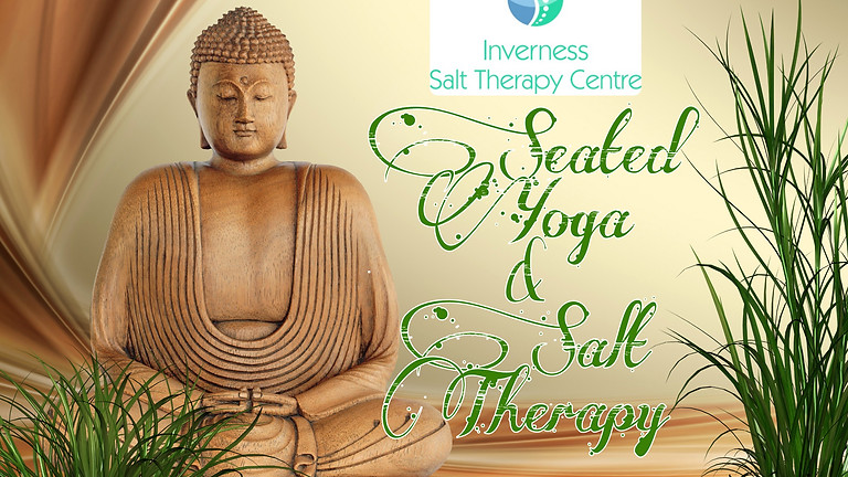 Seated Yoga and Salt Therapy