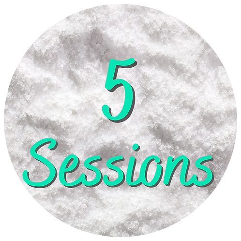 5 Salt Therapy Sessions
